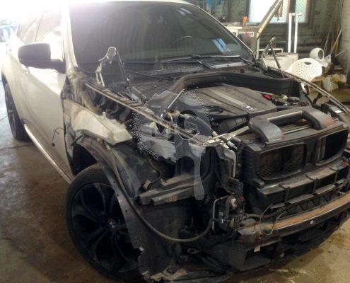 Разборка капота BMW Х5