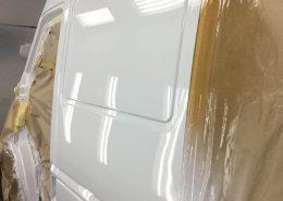 Покраска двери Mersedes Sprinter