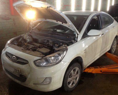 Ремонт машины Hyundai Solaris