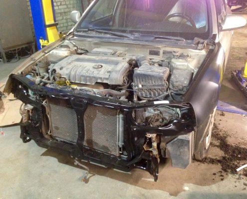 Починка машины Hyundai Elantra