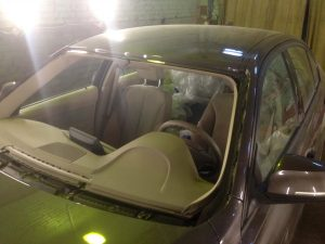 Восстановление крыши авто