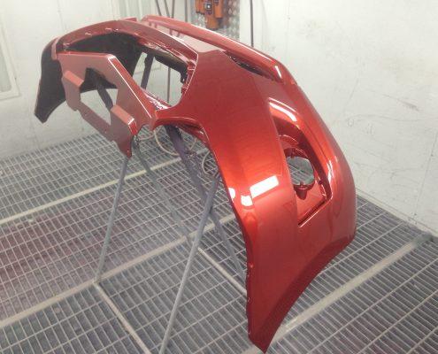 Замена переднего бампера Datsun