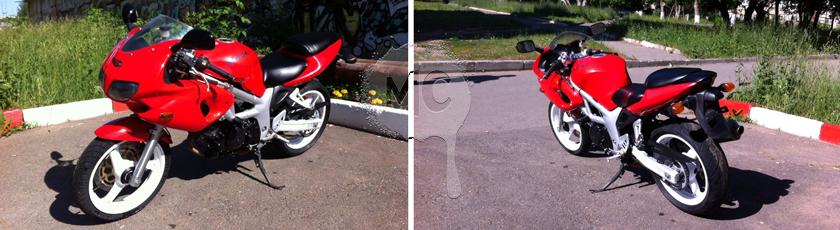 покраска мотоцикла в Magic Cars