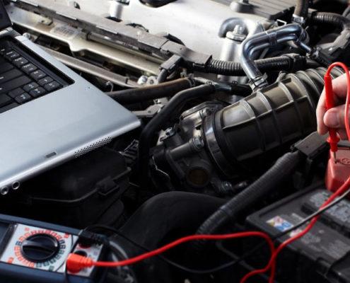 диагностика электрики машины