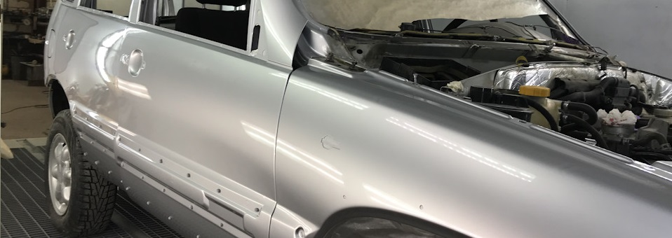 Кузовной ремонт Шевроле Нива