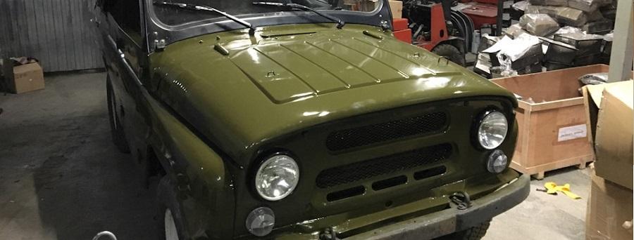 Кузовной ремонт УАЗ 469