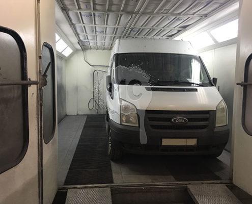 Кузовной ремонт и восстановление геометрии Peugeot Boxer
